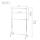 幅100.5×奥行42×高さ111-184cm ハンガープロシングル2段式100W クローム HPS2-100CR